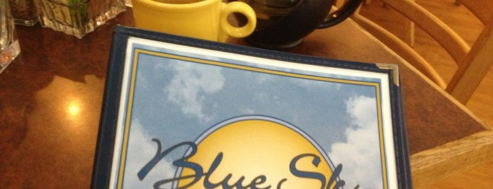Blue Sky Cafe is one of Annie 님이 좋아한 장소.