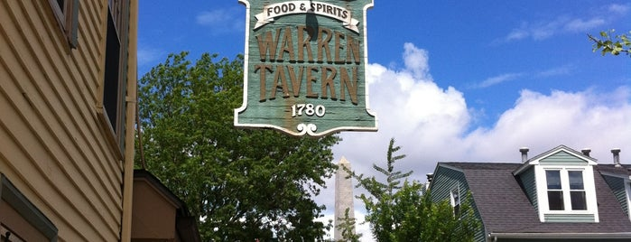 Warren Tavern is one of New England To-Do's.