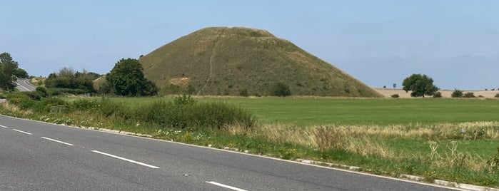 Silbury Hill is one of World Ancient Aliens.