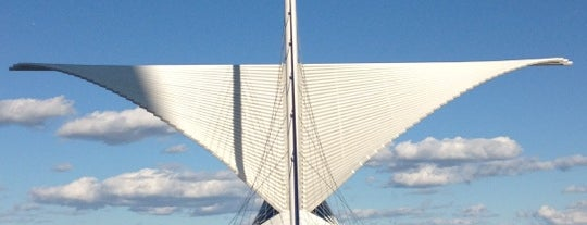 Milwaukee Art Museum is one of Stevenson's Favorite Art Museums.