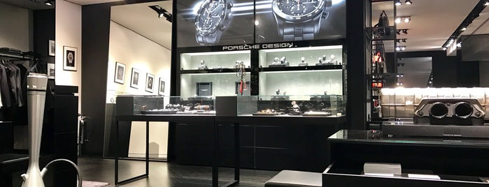 Porsche Design Store is one of Germany.