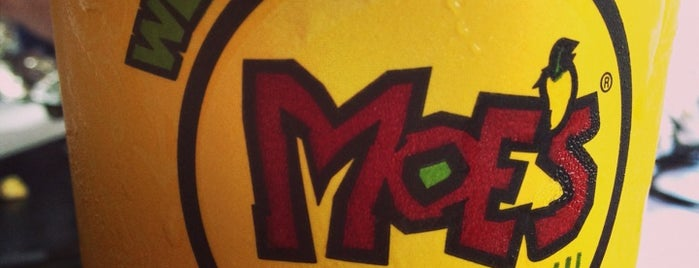 Moe's Southwest Grill is one of Locais curtidos por Tony.