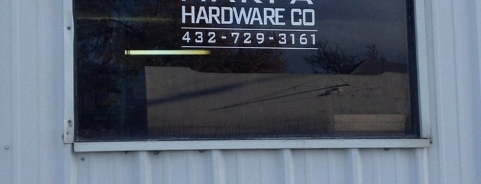 Marfa Hardware Co. is one of Marfa.