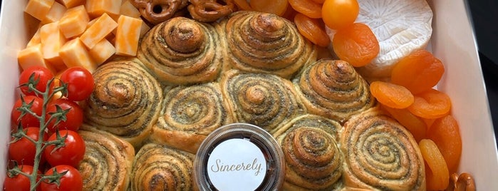 sincerely bakery is one of Lieux qui ont plu à ᴡ.