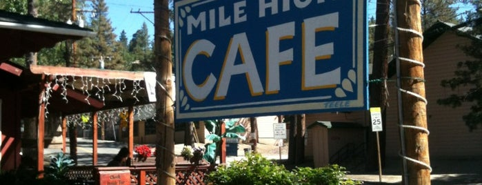Mile High Cafe is one of Idyllwild.