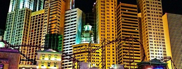 New York-New York Hotel & Casino is one of Vegas Places with Check-In Deals.