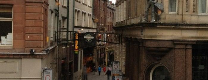 Mathew Street is one of LVP.