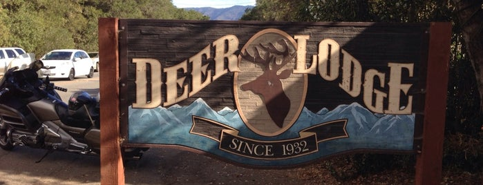 Deer Lodge is one of ojai.