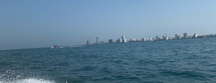 Malecón del Puerto de Veracruz is one of Lugares favoritos de Helena.