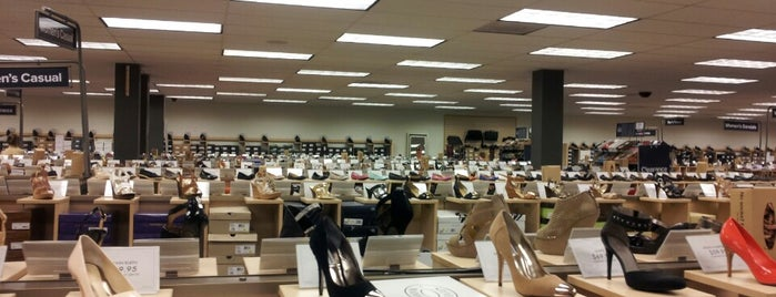 DSW Designer Shoe Warehouse is one of West Coast- LA.