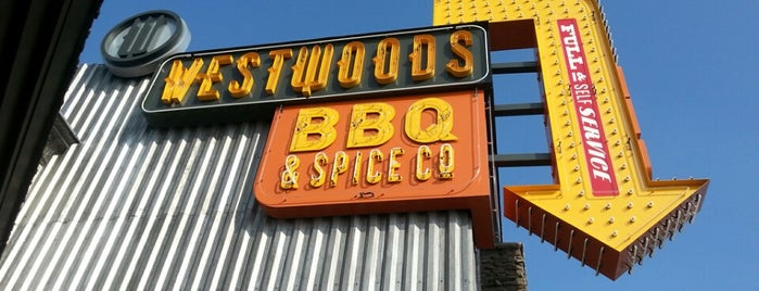 Westwoods BBQ & Spice Co. is one of Locais curtidos por Lori.