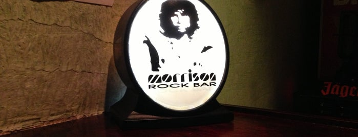 Morrison Rock Bar is one of Tempat yang Disukai Guilherme.