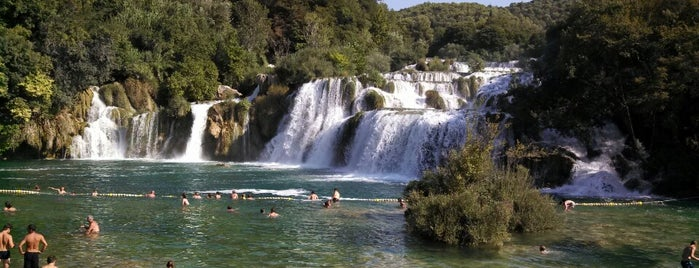 Nationalpark Krka is one of Croatie.