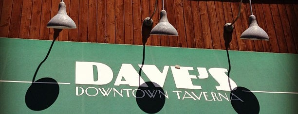 Dave's Taverna is one of Favorite bars.