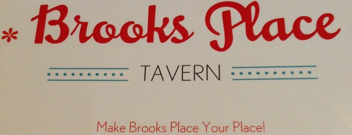 Brooks Place Tavern is one of Meatless Monday Restaurants.