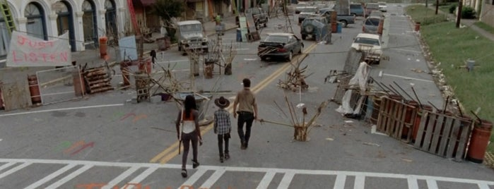 City of Grantville is one of The Walking Dead Filming Locations.