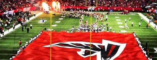 Georgia Dome is one of US Pro Sports Stadiums - ALL.