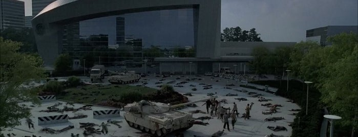 Cobb Energy Performing Arts Centre is one of The Walking Dead Filming Locations.