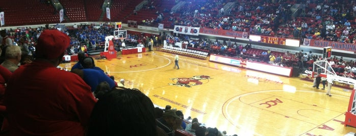 Reynolds Coliseum is one of Venues....
