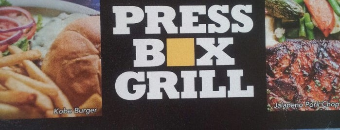 Press Box Grill is one of Watch Party Locations.