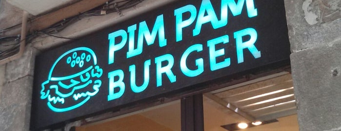 Pim Pam Burger is one of Barcelona.