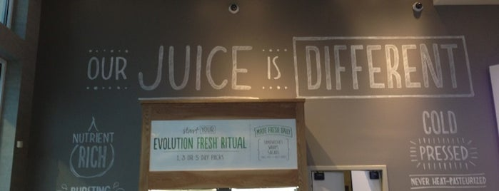 Evolution Fresh is one of Juice Bars & Tea Houses.
