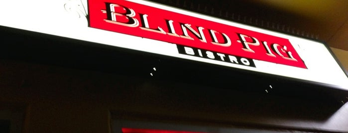Blind Pig Bistro is one of Been There, Ate It.