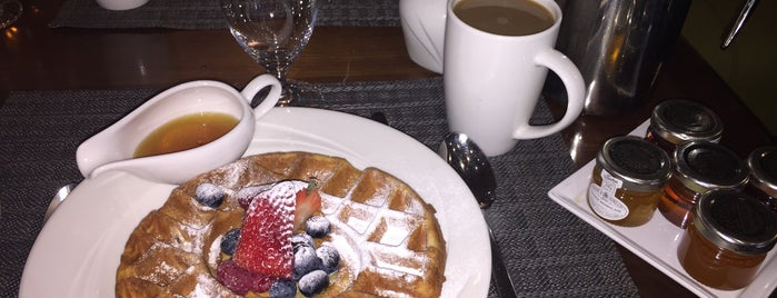 Podium Restaurant And Bar is one of LDN - Brunch/coffee/ breakfast.