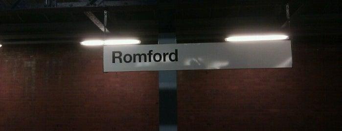 Romford Railway Station (RMF) is one of TFL Elizabeth Line Stations.