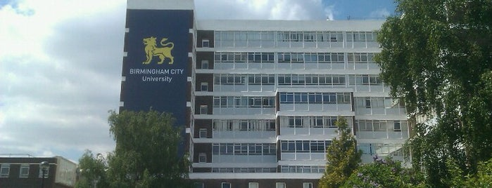Birmingham City University is one of Locais curtidos por Falcon.