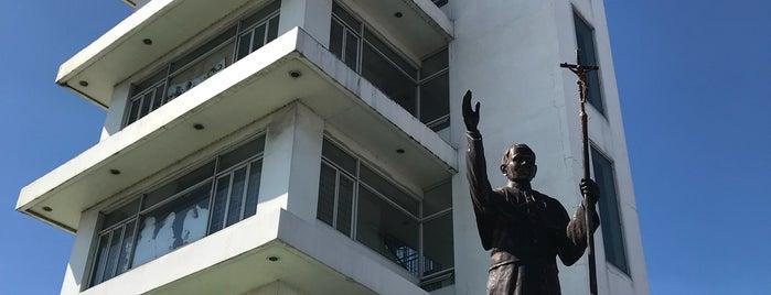 Pope John Paul II Tower is one of Spoiler babe. ❤️️.