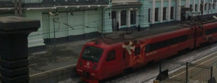 Тверской путепровод is one of Lieux sauvegardés par Capitalsstar🔥🔥🔥.