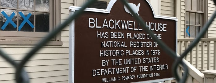 Blackwell House is one of David'in Beğendiği Mekanlar.