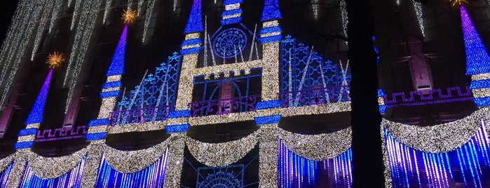Saks Fifth Avenue 3D Holiday Projection is one of Tandy parents might like.