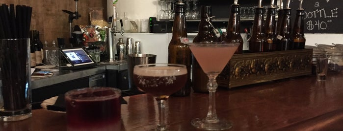 Proof + Gauge at The Astoria Distilling Company is one of The LOADed Cocktail Passport 2017.