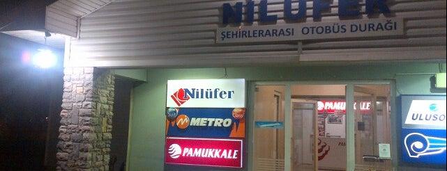 Nilüfer Şehirler Arası Otobüs Terminali is one of Muhtelif.