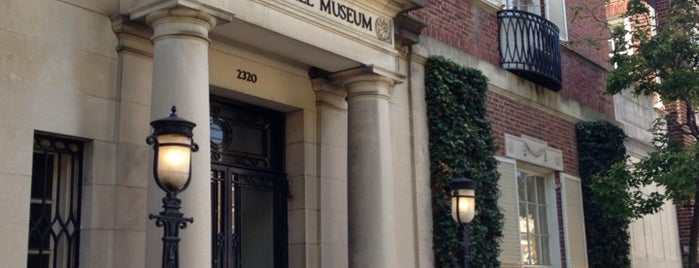 Textile Museum is one of 20 of the Best off the Beaten Path Museums in D.C..