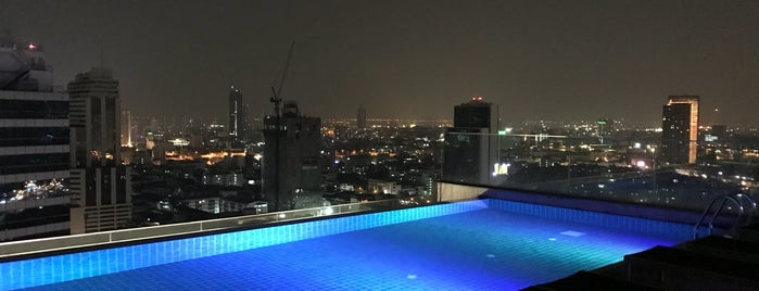 AkaAza Bar is one of Bangkok - Rooftop Bars.