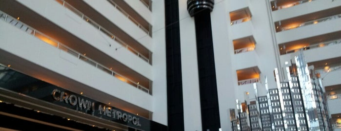 Crown Metropol is one of BCA Campaign 2011 Illumination Events.