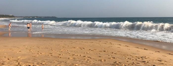 Narigama Beach is one of Lugares favoritos de Anton.