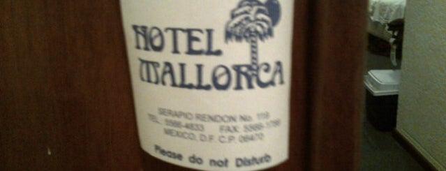 Hotel Mallorca is one of CIUDAD DE MEXICO.