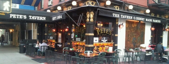 Pete's Tavern is one of Places to drink alcohol.