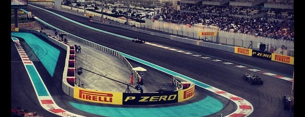 Yas Marina Circuit is one of outsiders....