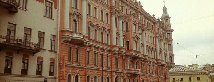 Потёмкинская улица is one of S.P..