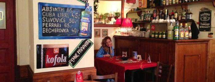 Café bar Archa U Prokůpků is one of Prague.