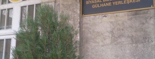 İstanbul Üniversitesi Siyasal Bilgiler Fakültesi Gülhane Yerleşkesi is one of Tempat yang Disukai Erkan.