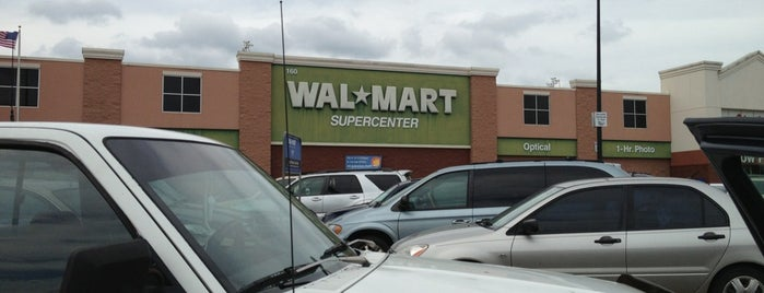 Walmart Supercenter is one of Fave Spots.