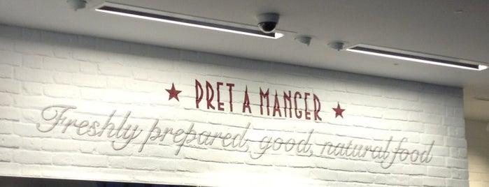 Pret A Manger is one of Lieux qui ont plu à Sandra.