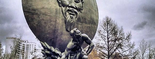 Площадь Хо Ши Мина is one of Posti che sono piaciuti a Egor.