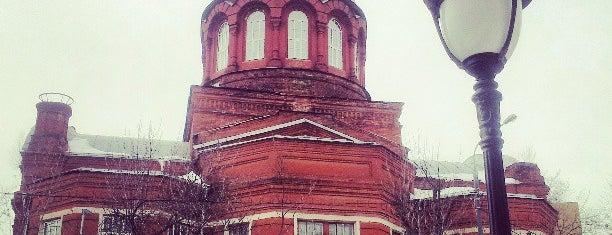 Храм Великомученика Георгия Победоносца в Грузинах is one of Москва лето 2017.